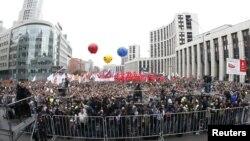 «Марш миллионов». Москва, Россия. 15 сентября 2012 года