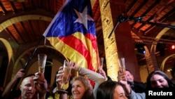 Демонстрация в поддержку независимости Каталонии. Фото Рейтер