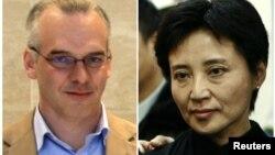 Doanh nhân người Anh Neil Heywood (26/5/2010) và bà Cốc Khai Lai - vợ ông Bạc Hy Lai