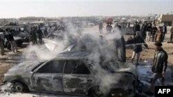 Bağdadda keçirilən dəfn mərasimində baş verən partlayış nəticəsində 35 nəfər həlak olub