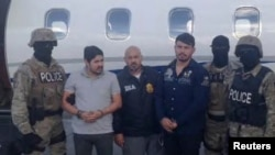 Efraín Antonio Campo Flores y Franqui Francisco Flores de Freitas cuando fueron detenidos en 2015.
