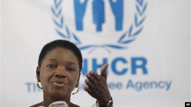 Giám đốc cơ quan nhân đạo Liên Hiệp Quốc Valerie Amos.