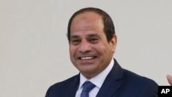 Le président égyptien Abdel-Fattah el-Sisi, 4 septembre 2015.