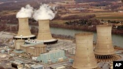 Three Mile Island nuclear power plant (file photo)
