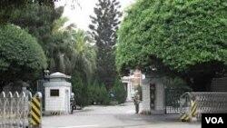 台湾国防部 (美国之音申华拍摄)