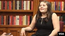 Ivón Padilla-Rodríguez admira a la jueza de la cOrte Suprema Sonia Sotomayor y es considerada una de las mujeres universitarias más exitosas de EE.UU.