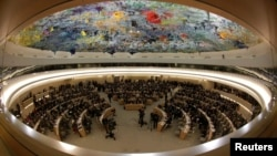 Phiên họp của Ðại Hội đồng Nhân quyền Liên Hiệp Quốc tại Geneva.