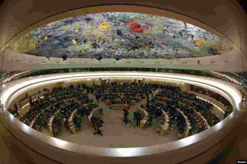Neobičan pogled na 22. sesiju UN-ovog Vijeća za ljudska prva u Ženevi