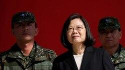 台湾最新总统大选民调显示蔡英文与韩国瑜各有胜负