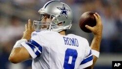 Romo tiene un registro de 69-47 en la temporada regular como mariscal de campo titular de Dallas.