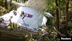 Deo olupine aviona koji je pao u blizini sela Nadi