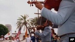 Mariachi San Gabriel Mission, Calif.,