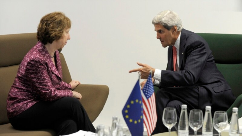 Kerry Seeks EU Support On Syria