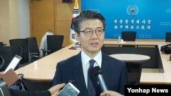 한국의 북핵 6자회담 수석대표인 김홍균 외교부 한반도평화교섭본부장. (자료사진)