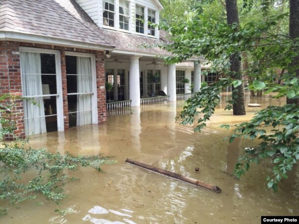 More than 40,000 homes have been damaged by the floods in Baton Rouge, Louisiana. (Photo courtesy of Abby TerHaar)