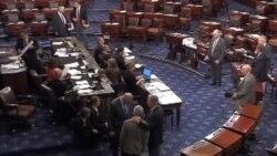 رأی سنای آمریکا به تمدید چند هفته ای بودجه دولت