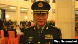 中国人民解放军原总后勤部政委刘源上将 (网络照片)