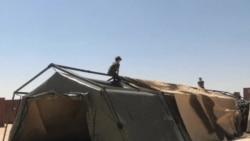 法國在約旦設臨時醫院救治敘利亞難民
