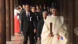 幾十位日本國會議員參拜靖國神社