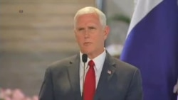 US VP Pence talks about Venezuela during Panama visit