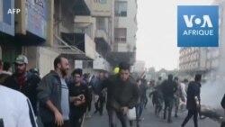 Irak: affrontements entre manifestants et police à Bagdad