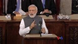 印度總理在美國國會恣意揮灑幽默