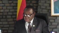 Zimbabwe Information Minister Announces Ouster of VP Mnangagwa..