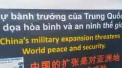 越南河内与南部胡志明市发生反华示威
