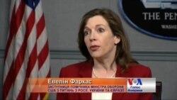 Евелін Фаркас: ми на постійному зв'язку з українським військовим керівництвом. Відео