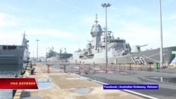 Đội tàu chiến Úc cập cảng Cam Ranh