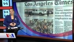 29 Eylül Amerikan Basınından Özetler