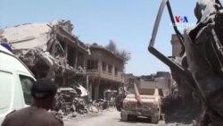 Մոսուլում ընթանում են քաղաքը զինյալներից վերջնականապես մաքրելու գործողություններ