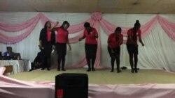 Members of Zim Mbokodo Display Fancy Footwork ...