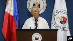 Ngoại trưởng Philippines Perfecto Yasay.