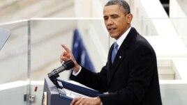 Tổng thống Obama phát biểu trong buổi lễ tuyên thệ nhậm chức nhiệm kỳ 2