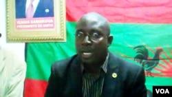 Secretario provincial da UNITA Januário Alfredo Mussambo