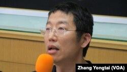 台湾守护民主平台代表 祝平次