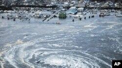 زلزلۀ ویران کننده یی در جاپان