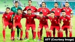 یازده بازیکن نخست تیم ملی افغانستان در رقابت با سریلانکا