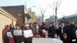 春節期間在北京的外地訪民