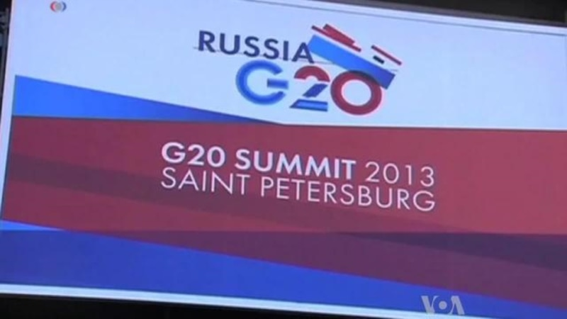 World Leaders Begin G20 Summit in Russia