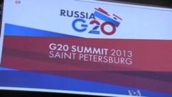 World Leaders Begin G20 Summit in Russia