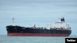 Le Distya Ameya, le bateau transportant le pétrole, a été stoppé à Malte avant d'être rapatrié.