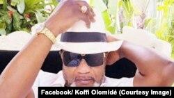 Alanga nzembo Koffi Olomidé, 13 mai 2018. (Facebook/ Koffi Olomidé)