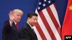 رئیس جمهور ترمپ به سلسلۀ سفر به چند کشور آسیایی روز پنجشنبه سرگرم دیدار از چین بود