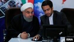 آقای روحانی در روز چهارم ثبت نام کرد.