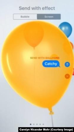 iMessage Balloons