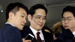 Samsung အႀကီးအကဲ ဖမ္းဝရမ္း ဆိုင္းငံ့ထား