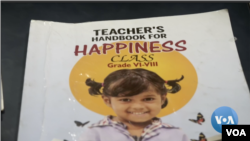 Sekolah Negeri Delhi Utamakan Kebahagiaan dalam Kurikulum (Foto: VOA/Videograb)
