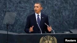 Le président américain s'adresse à l'Assemblée générale de l'ONU le 24 septembre 2013